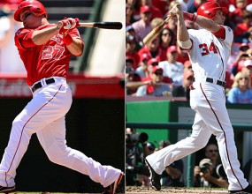 "Traut and Harper are ""Rookies of the Year 'in MLB"