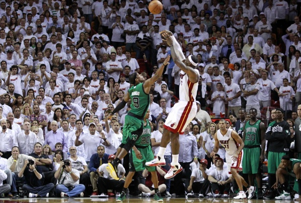 Miami lead with two wins over Boston in NBA playoffs