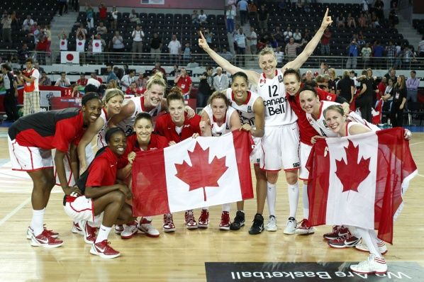 Women's Olympic basketball tournament gave the last five places