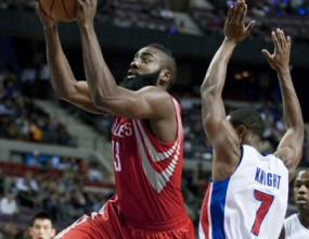Harden debuted with 37 points for Houston, Lakers with second straight defeat