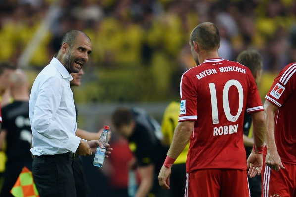 Robben: People compare us with Barcelona, ​​but we are Bayern, we completely destroyed Man City