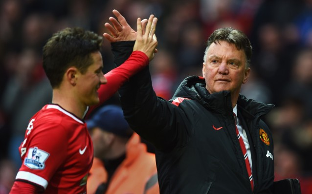 Van Gaal: 'I am very happy for the fans.'