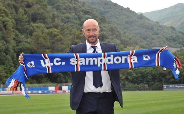 The President of Sampdoria voted confidence in Walter Zenga