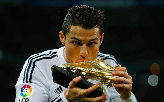 Ronaldo won for the fourth time the 'Golden boot'