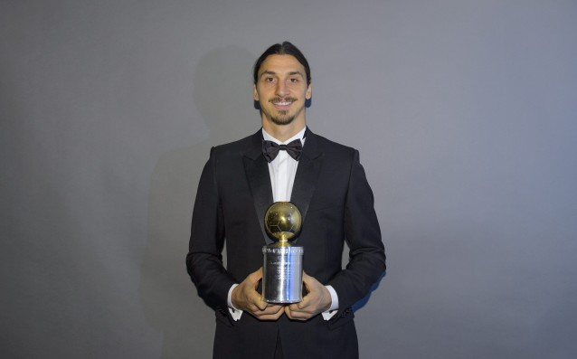 The tenth Golden ball for Zlatan!