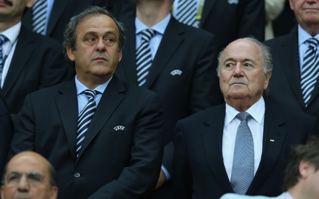 Platini and Blatter are mad at FIFA