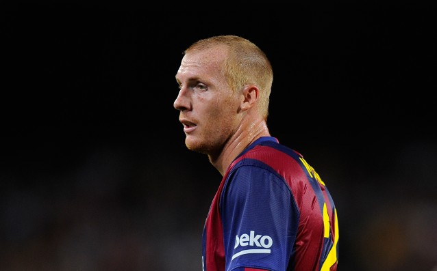 Jeremy Mathieu is leaving Barca after the end of the season?