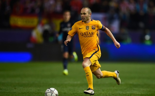 Andres Iniesta sent a clear message