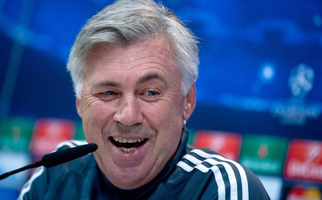 Ancelotti complained of the German language
