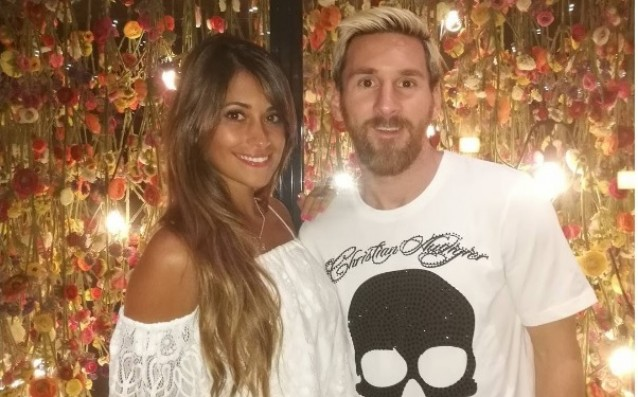 Messi finally visited his own restaurant