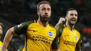 Brighton shocked West Ham in the middle of London