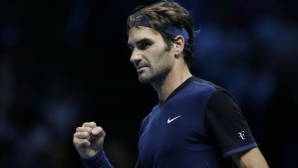 Federer started his home tournament convincingly