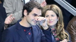Federer sent his best friend to the court in tears