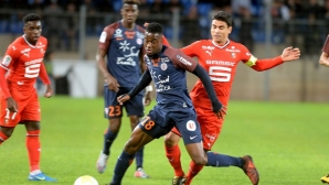 Wren stripped the three points as a guest of Montpellier