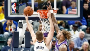 Sabonis also punished Sacramento