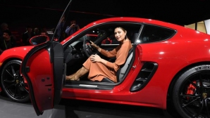 Masha gave a glimpse at LA Motor Show