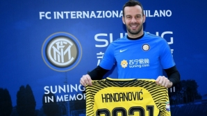 Handanovich re-signed with Inter