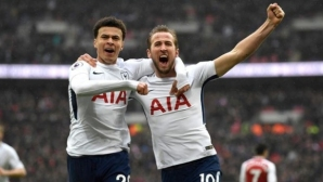 Kane`s next goal shot Tottenham in the top 3, Arsenal was looking at Wembley
